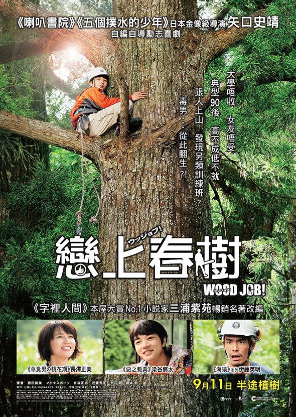 戀上春樹/哪啊哪啊神去村(Wood Job!)poster