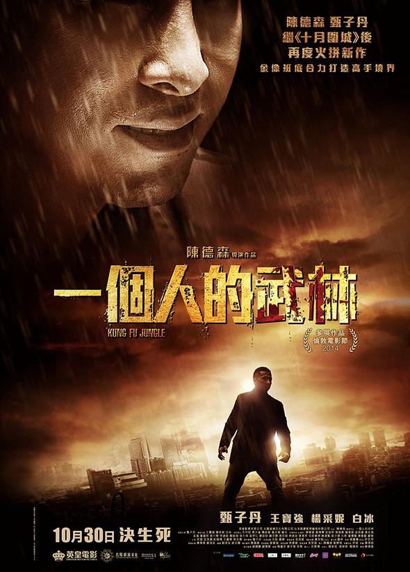 一個人的武林(Kung Fu Jungle)poster
