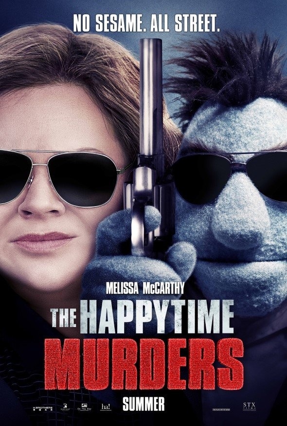 The Happytime Murders主要電影海報